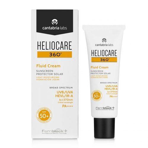 Heliocare 360 fluid cream SPF 50